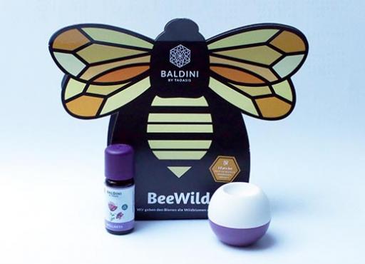 BeeWild Raumduftsets, Wildbienen-Projekt