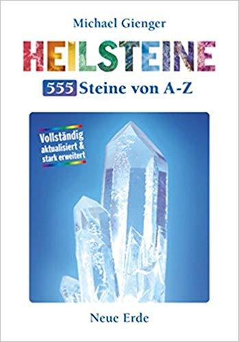 Buch Heilsteine, 555 Steine von A-Z; Michael Gienger