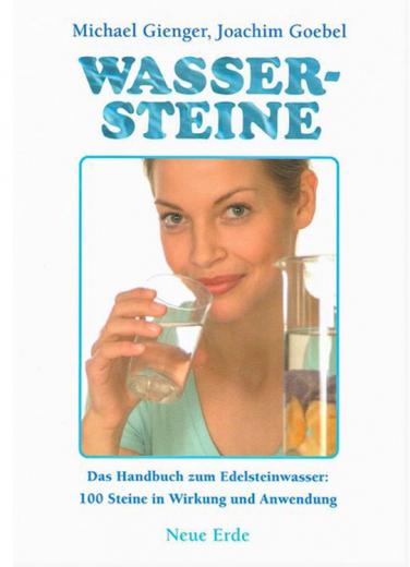 Buch Wassersteine; Michael Gienger und Joachim Goebel